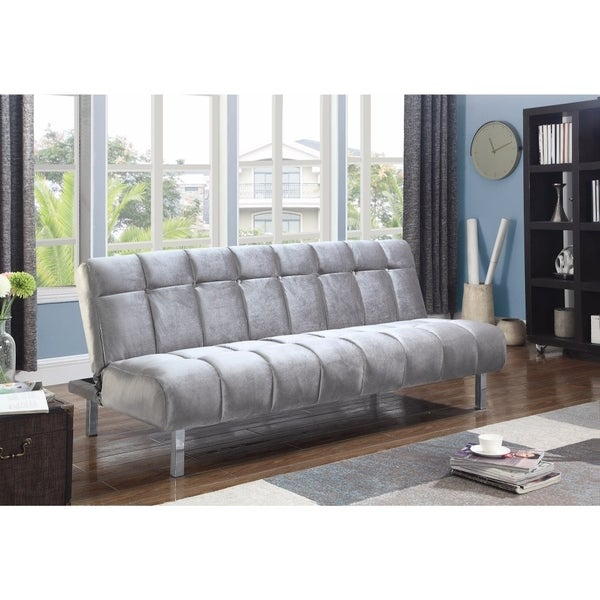 Fabulous Trendy Modern Sofa Bed Silver Interior Design Ideas Gentotryabchikinfo