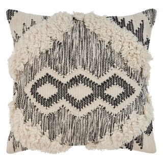 LR Home Ranch Style Textured Indoor Throw Pillow 20 inch