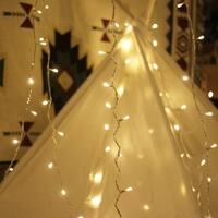 LED String Lights, by myCozyLite, Plug in String Lights