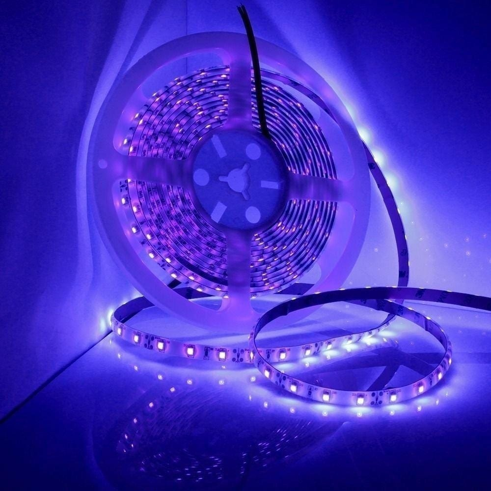 UV Light Strip Waterproof Led Strip Lights 16.4 Feet 300 LEDs Ropes Lights New
