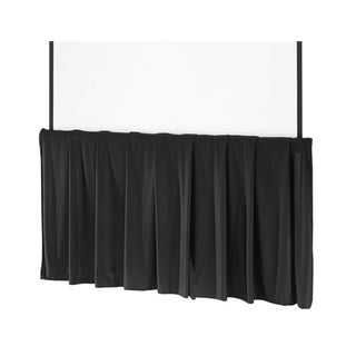 "Da-Lite Black Tripod Skirt for 84"" Wide Screens"