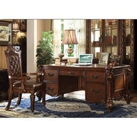 Imperial Executive Desk, Cherry Brown