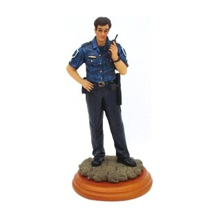 Encore Select Inc America's Heroes Policeman Limited Numbered Edition Figurine