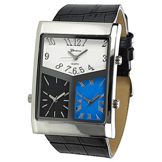 Geneva Platinum Men's 3-dial World Traveler Watch|https://ak1.ostkcdn.com/images/products/2149589/P10426452.jpg?_ostk_perf_=percv&impolicy=medium