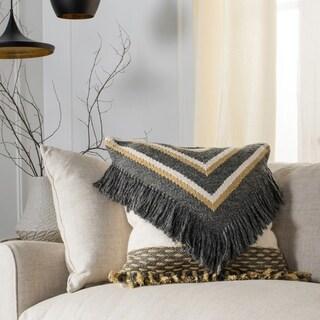 Safavieh Elettra Nomad Fringe 20-inch Decorative Pillow