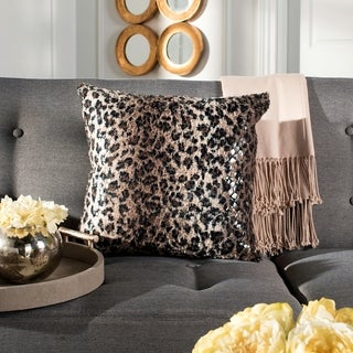 Safavieh Zahara Cheetah Print 20-inch Decorative Pillow