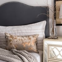 Safavieh Edmee Metallic Brown 12 x 20-inch Decorative Pillow