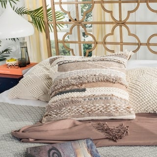 Safavieh Demna Nomad Desert Wool 20-inch Decorative Pillow