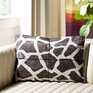 Safavieh Antonio Cowhide Rectangle Pillow (Set of 2)