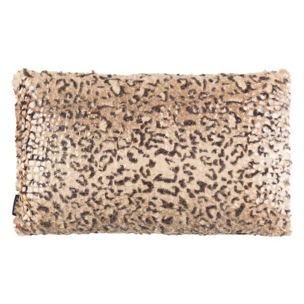 Safavieh Zuma Cheetah Print 12 X 20 Inch Decorative Pillow