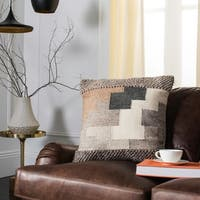 Safavieh Karlie Tribal Wool and Cotton 20-inch Pillow
