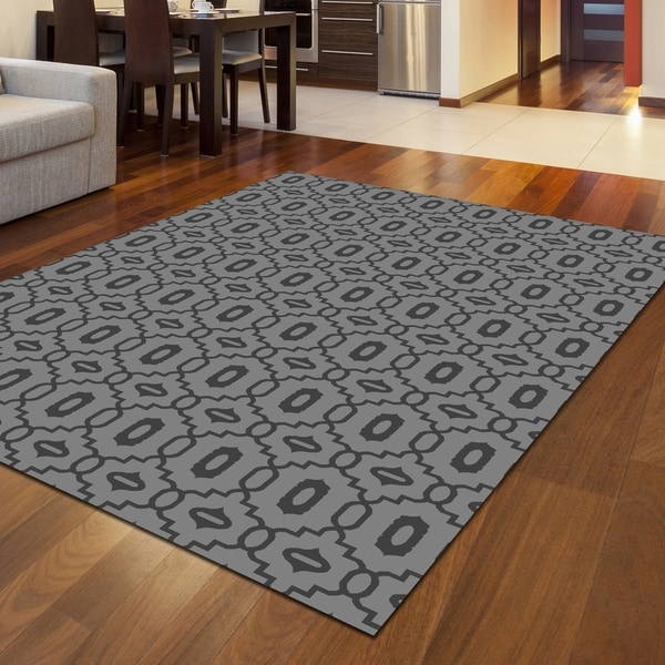 """Bronte Disc Area Rug - 7'10"""" x 10'6"""""""
