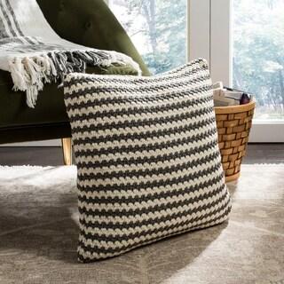 Safavieh Suki Striped Indoor/ Outdoor 20-inch Pillow
