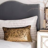 Safavieh Talon Sequin Gold 12 x 20-inch Pillow