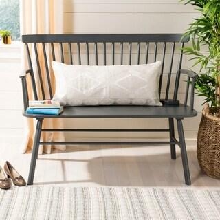 Safavieh Llilli Charming Grey/ Silver 14 x 30-inch Decorative Pillow