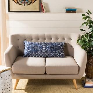 Safavieh Llilli Boho Chic Blue 14 x 30-inch Decorative Pillow