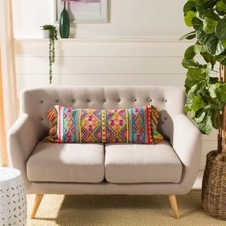 Safavieh Carmie Vibrant Bohemian 14 x 30-inch Decorative Pillow