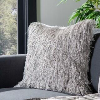 Safavieh Retro Chic Indoor/ Outdoor 20-inch Shag Pillow