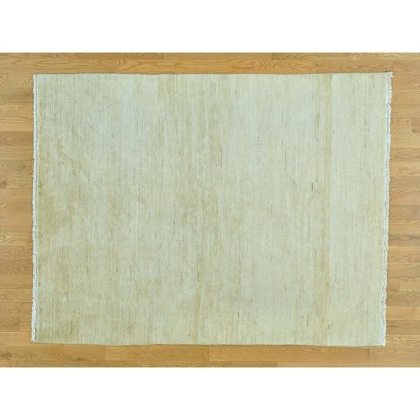 Shop Beige Wool Hand Knotted Oriental Persian Area Rug 6: Shop Hand Knotted Beige Clearance With Wool Oriental Rug