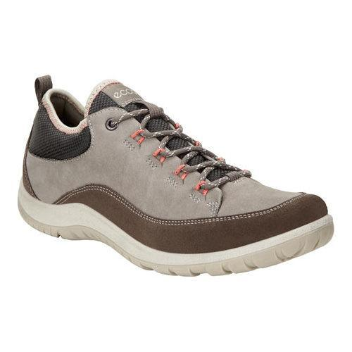 db3ce7a4b257e Shop Women's ECCO Aspina Low Hiking Shoe Dark Clay/Warm Grey Yak Nubuck  Leather - Free Shipping Today - Overstock - 18604799