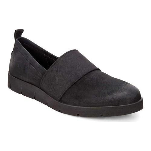 b16ec6b7417d Shop Women s ECCO Bella Stretch Slip-On Black Nubuck - Free Shipping Today  - Overstock - 18604821