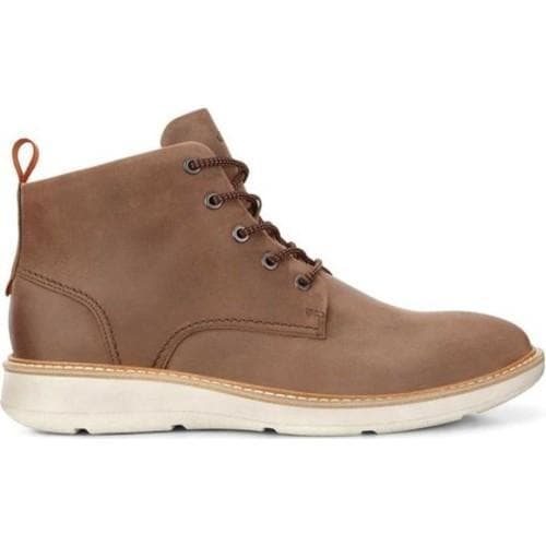 2e80c8057a4 Shop Men s ECCO Aurora Mid Boot Cocoa Brown Oil Nubuck - Free ...