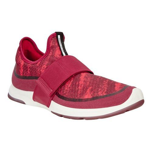 05b1448c7418 Shop Women s ECCO BIOM Amrap Strap Sneaker Brick Brick-Tomato  Synthetic Textile - Free Shipping Today - Overstock - 18604838