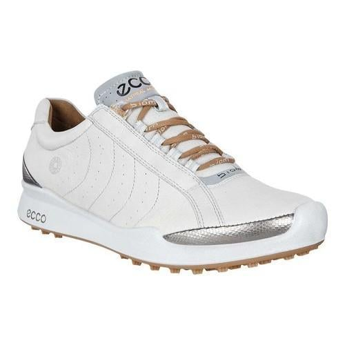 Shop Women s ECCO Biom Hybrid Hydromax II Golf Shoe Concrete Mineral Yak  Leather - Free Shipping Today - Overstock - 18604883 fcceb7813b