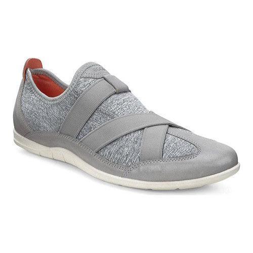 Womens Shoes ECCO Bluma Slip-On Wild Dove/Concrete