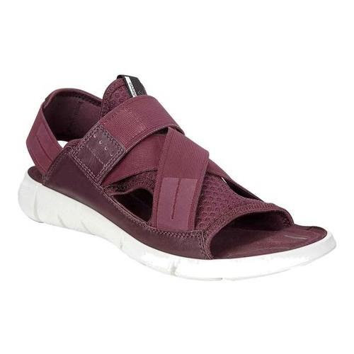 bdf7ff52ea0 Women s ECCO Intrinsic Walking Sandal Bordeaux Bordeaux Leather - Free  Shipping Today - Overstock - 24704660