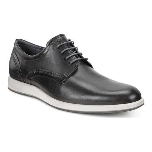 Shop Men s ECCO Jared Tie Oxford Moonless Cow Nubuck - Free Shipping Today  - Overstock - 18605108 90449dd6e262
