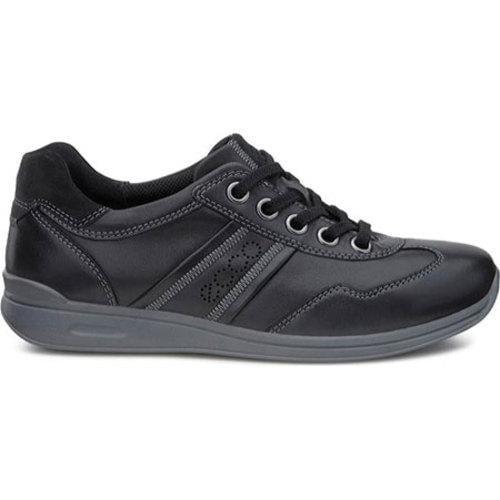 ECCO Mobile II Black Leather/Suede