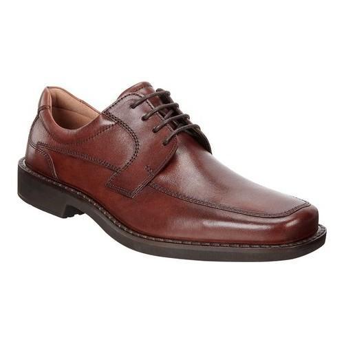 Shop Men s ECCO Seattle Apron Toe Derby Cognac Leather - Free Shipping  Today - - 18605226 69fc1552549d8