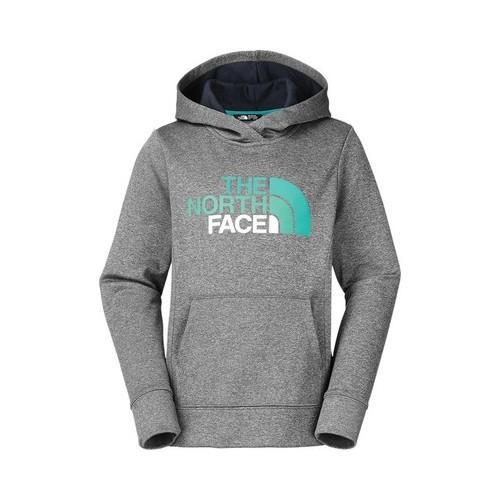 57638b31e810 Shop Girls  The North Face Surgent Pullover Hoodie TNF Medium Grey ...