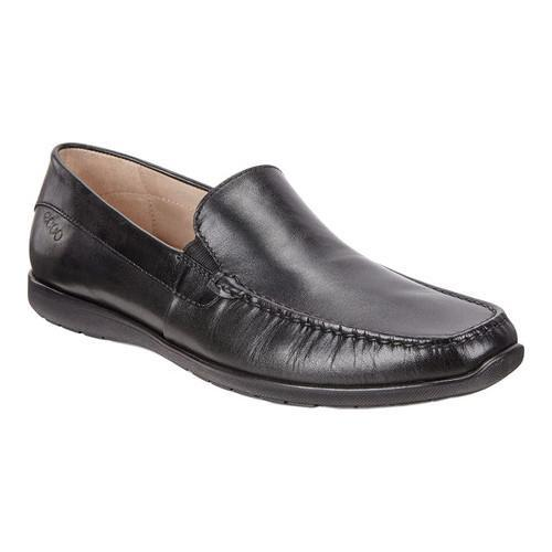 dfc4dfc3375 Shop Men's ECCO Dallas Moc Toe Shoe Black Leather - Free Shipping Today -  Overstock - 18621356