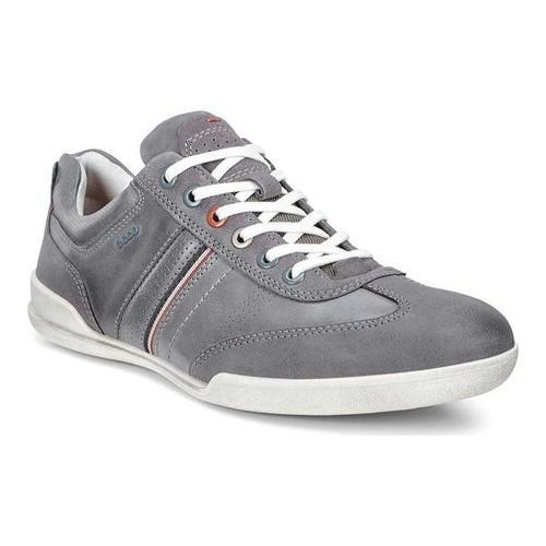 Ecco Sneaker in moonless titanium