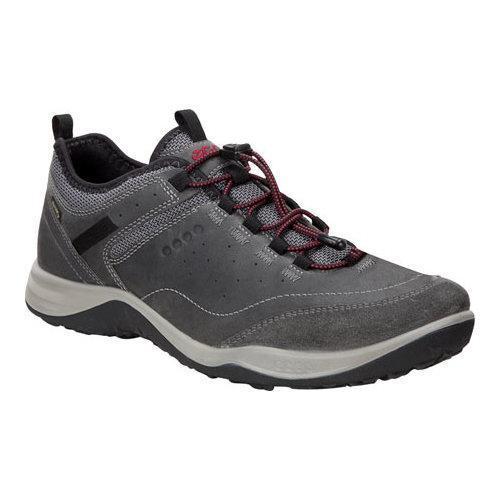 759d144c Men's ECCO Espinho GORE-TEX Hiking Shoe Titanium/Dark Shadow Cow Oil  Suede/Nubuck