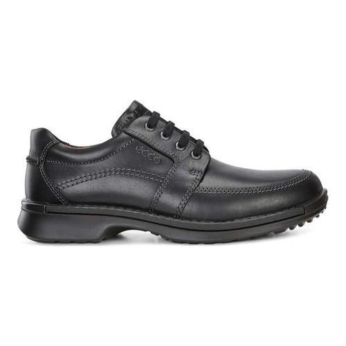 9c1fff58310d Shop Men s ECCO Fusion II Tie Moc Toe Shoe Black Cow Leather - Free  Shipping Today - Overstock - 18621437