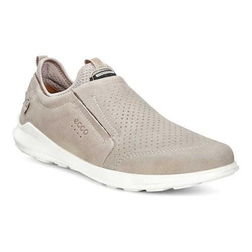 393e3e1170f8 Shop Men s ECCO Transit Slip-on Sneaker Moon Rock Quarry Cow Nubuck - Free  Shipping Today - Overstock - 18621523