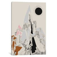 "iCanvas ""Dusty Mountain"" by Flatowl Canvas Print"