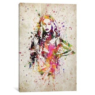"""iCanvas """"Beyonce II"""" by Aged Pixel Canvas Print"""