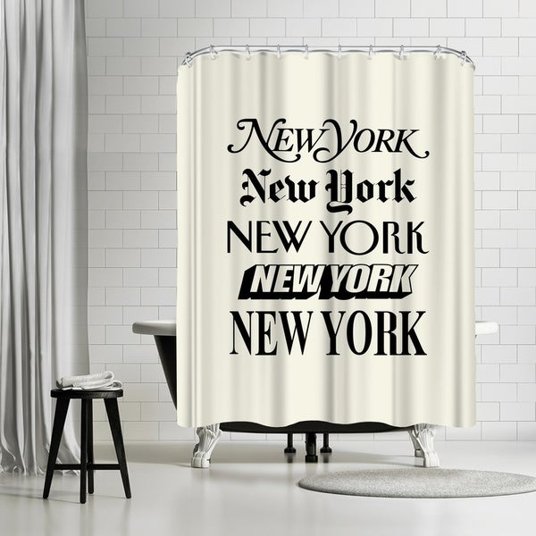 Americanflat \'New York\' Shower Curtain - Free Shipping Today ...