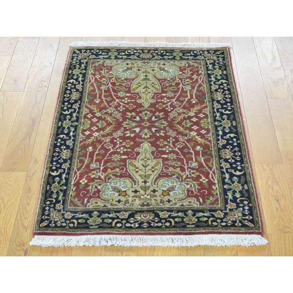 Shop Persian Oriental New Zealand Wool Area Rug: Shop Hand Knotted Red Fine Oriental With New Zealand Wool