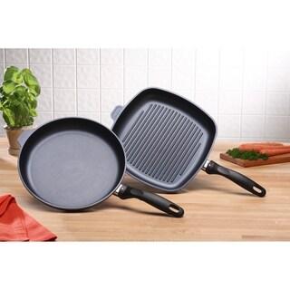 Swiss Diamond HD 2 Piece Set - Fry Pan and Grill Pan