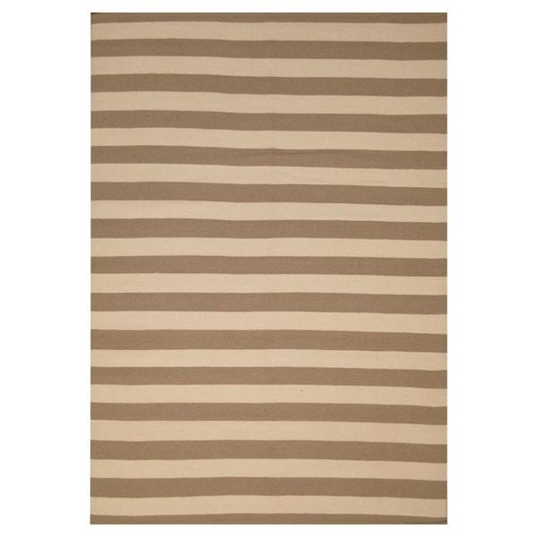 Handmade Wool Kilim (India) - 5'3 x 7'7