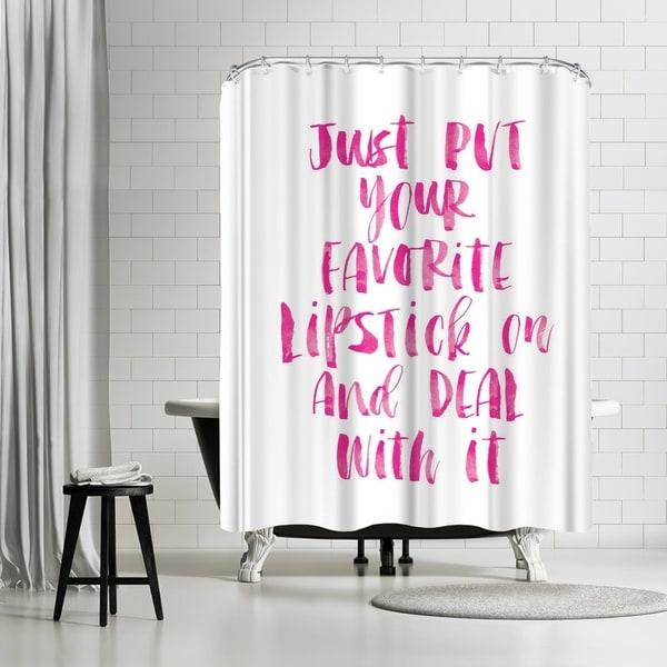 Shop Americanflat Lipstick Shower Curtain