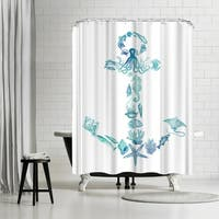 Americanflat 'Anchor 2015' Shower Curtain