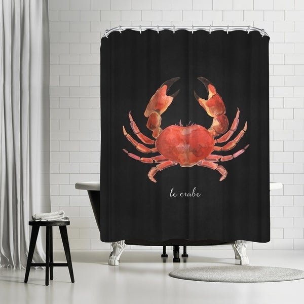 Shop Americanflat French Seafood Crab Shower Curtain