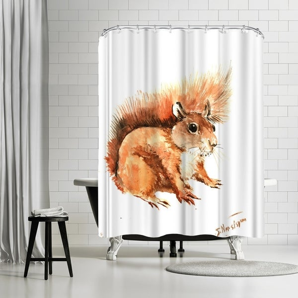 Shop Americanflat Squirrel Shower Curtain