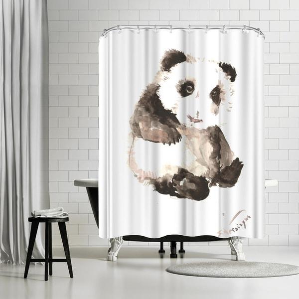 Shop Americanflat Baby Panda Shower Curtain